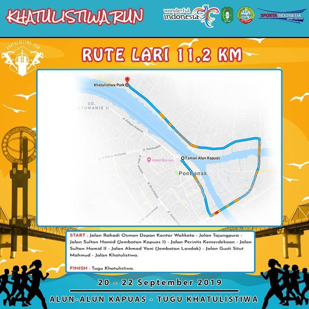 Khatulistiwa Run • 2019