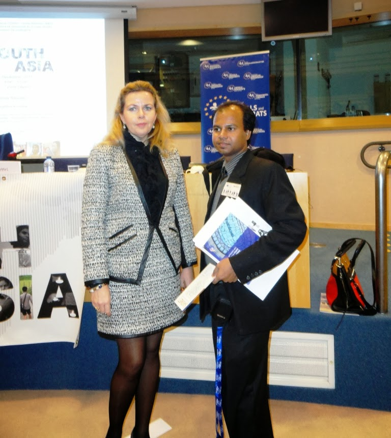 Consultating with MEP of European Pariament