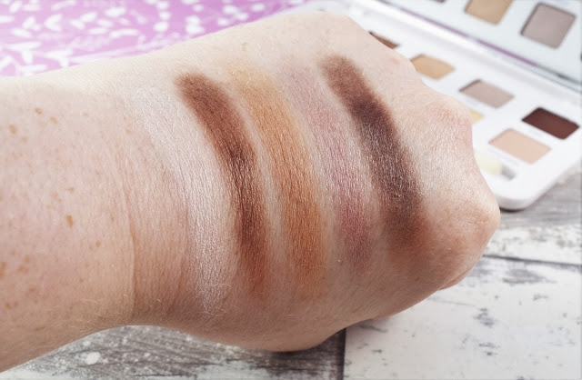 Models Own Dare To Bare Eyeshadow Palette Swatches