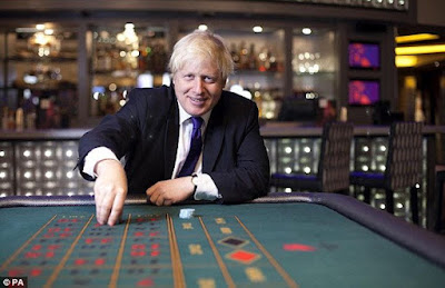 Boris Johnson at Casino
