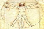 El Hombre de Vitrubio, de Leonardo Da Vinci, símbolo del humanismo