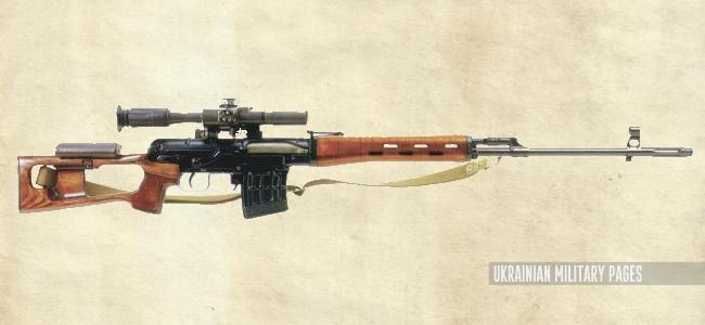 7,62-мм снайперська гвинтівка Драгунова (СГД)