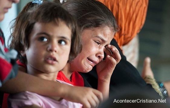 Niños cristianos de Oriente Medio