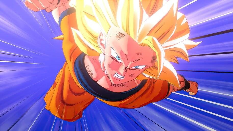 Dragon Ball Z Kakarot, Goku, Super Saiyan 3, 4K, #7.850