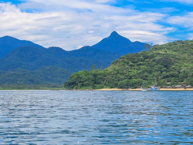 Retorno à Picinguaba da Ilha das Couves, em Ubatuba