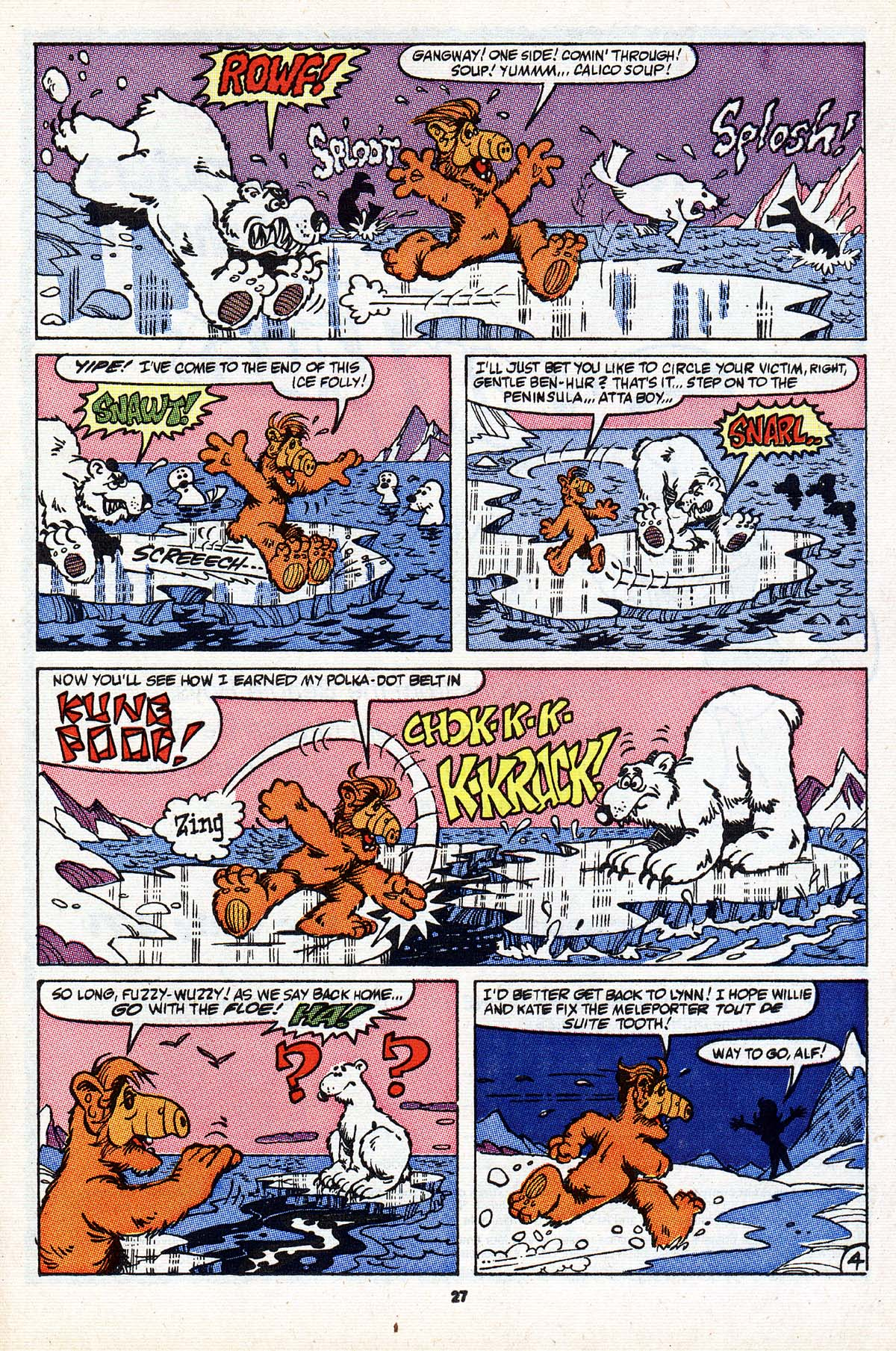 Read online ALF comic -  Issue #23 - 22