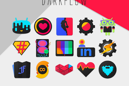 Download Launcher Theme For Android DarkFlow – Icon Pack v1.1 Apk