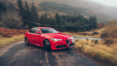 The big test news, Alfa Romeo Giulia QV 2017 takes on the UK !!!