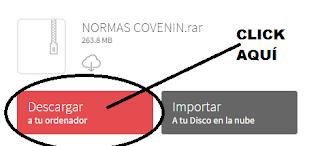 Descargar Normas COVENIN. 1