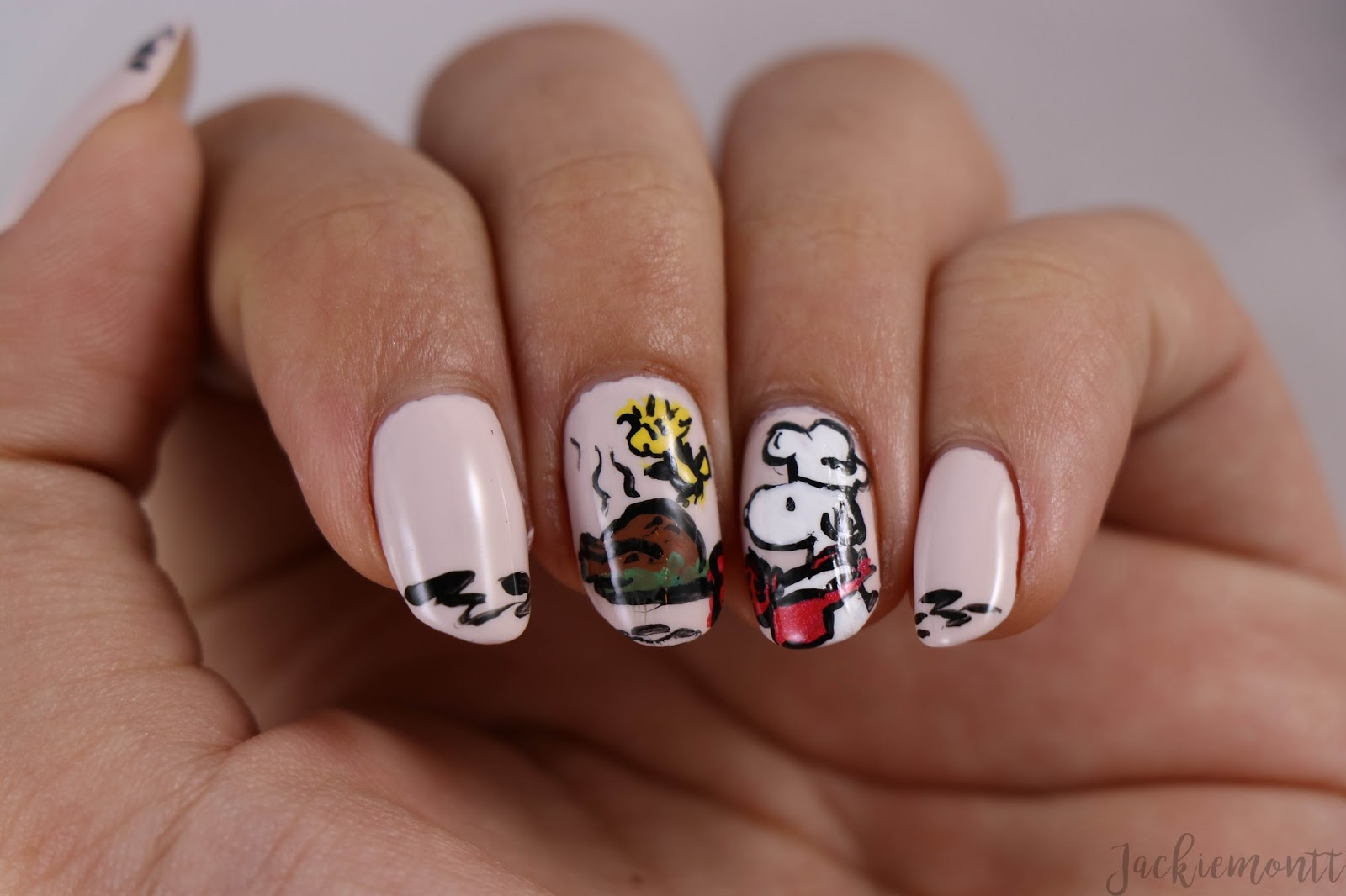Thanksgiving Nail Art - JACKIEMONTT