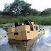Máquina do Consórcio do Jacuípe cai dentro de represa em Quixabeira