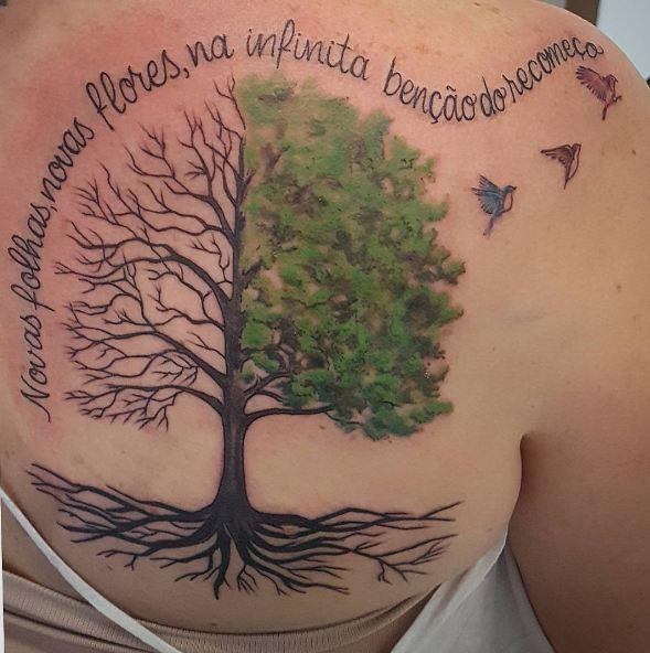 Tree Side Tattoo: 50+ Simple Tree Tattoos For Men (2020) Ideas & Designs