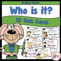 Who is it task cards
