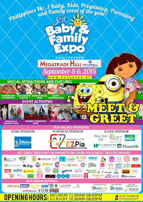 3rd Baby And Family Expo Philippines Opens This September 5, 2015