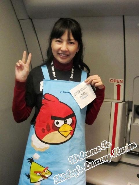 shirley tay of luxury haven in angry birds apron