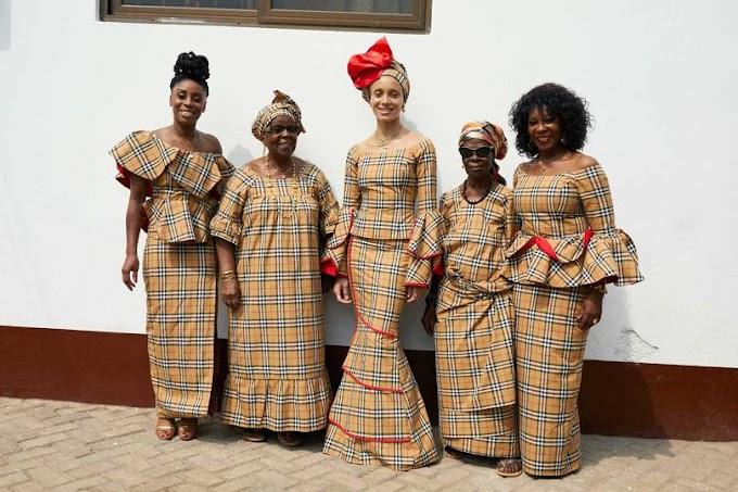 Model Adwoa Aboah Takes Burberry To Ghana