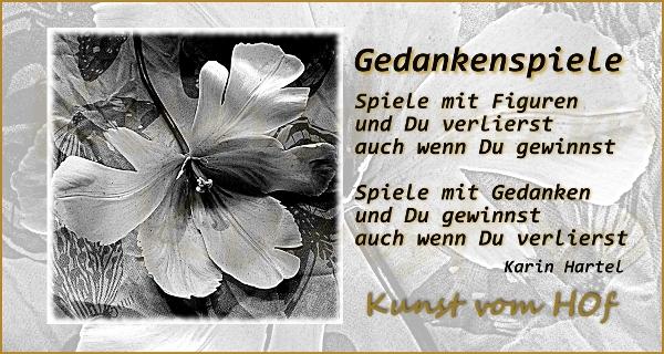 Gedankenspiele Auf Tulpe Schwarz Weiss Kunst Vom Hof