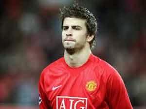 Gerard Pique (Manchester United ke Barcelona)