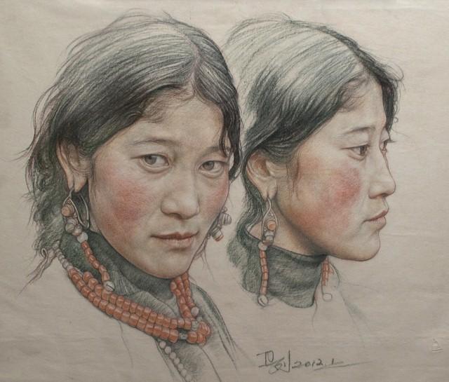 Карандашные портреты. William Wu 12
