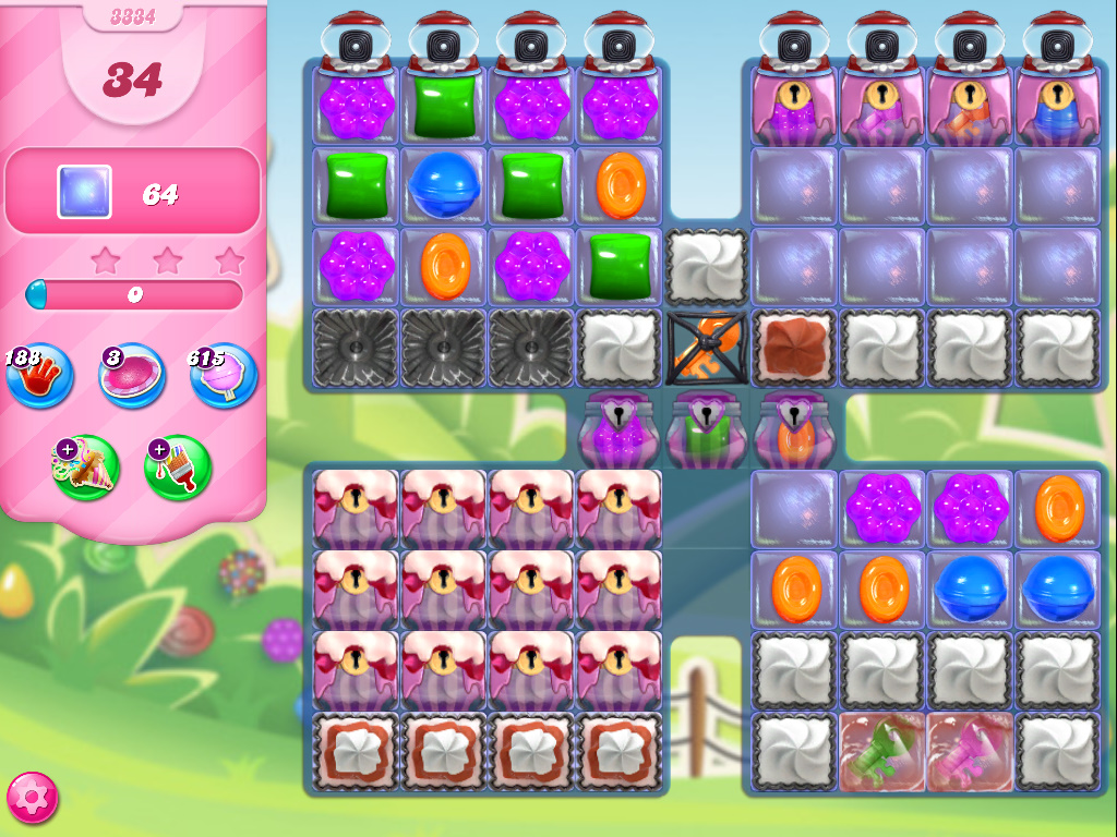 Candy Crush Saga level 3334