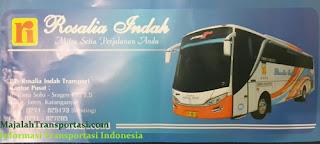 foto tiket bus rosalia indah super top scania k360 opticruise