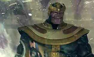 Marvel Select Diamond Select Thanos Disney Store Exclusive Action Figure