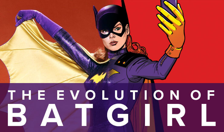 Images: An Infographic That Shows The Evolution Of Batgirl