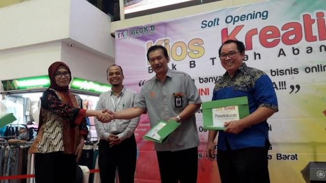 Pos Indonesia Bidik Pedagang Online Tanah Abang