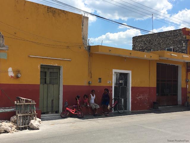 Ville de Homun, Mexique