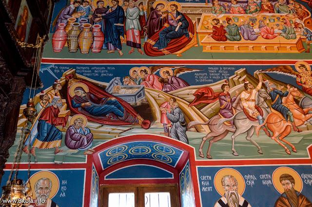 Св. Богородица - Битола - фрескоживопис