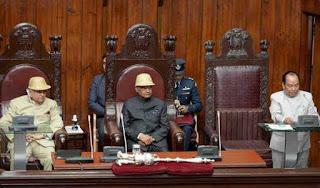 president-addresses-mizoram-assembly