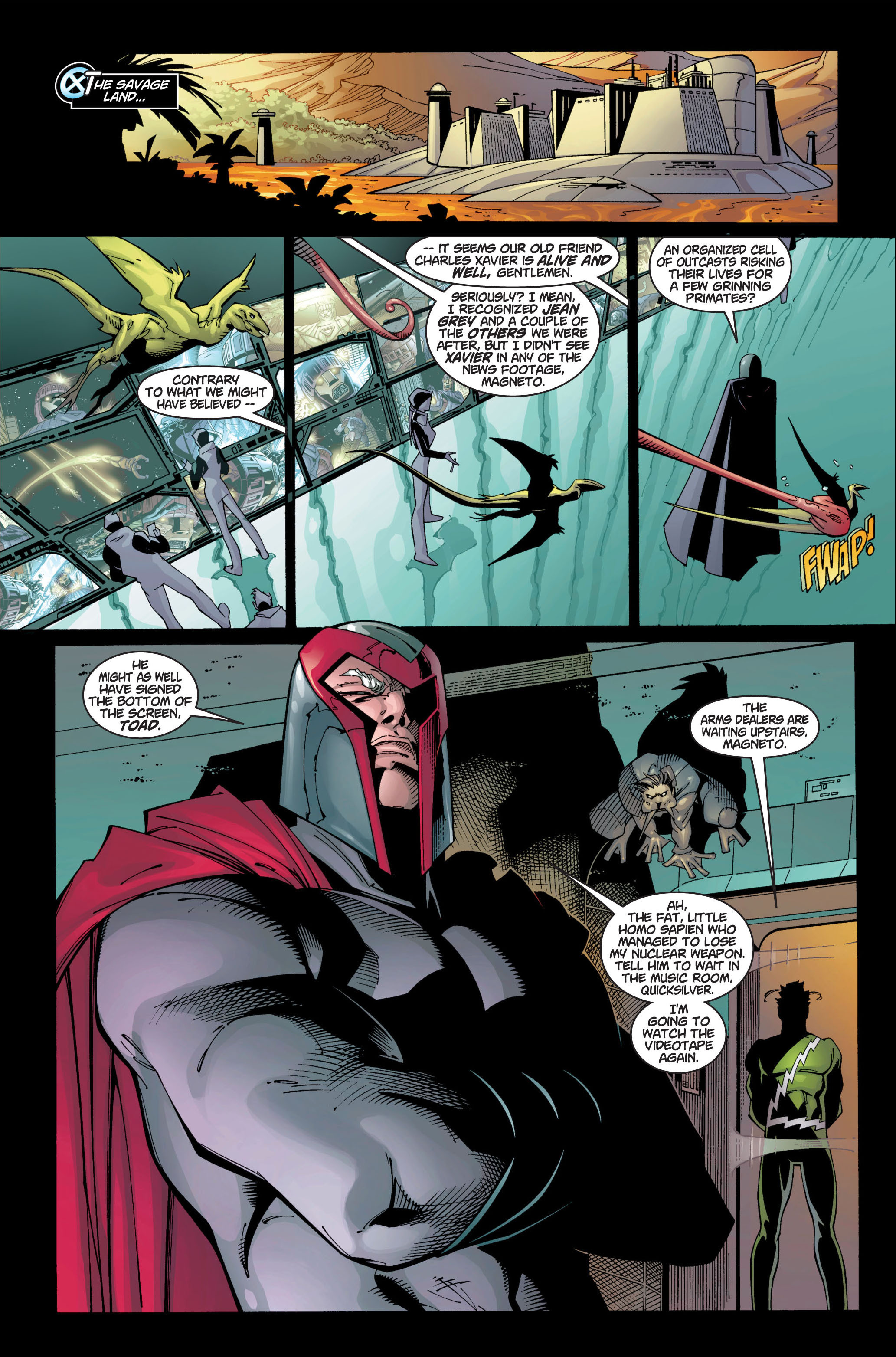 Read online Ultimate X-Men comic -  Issue #1 - 33