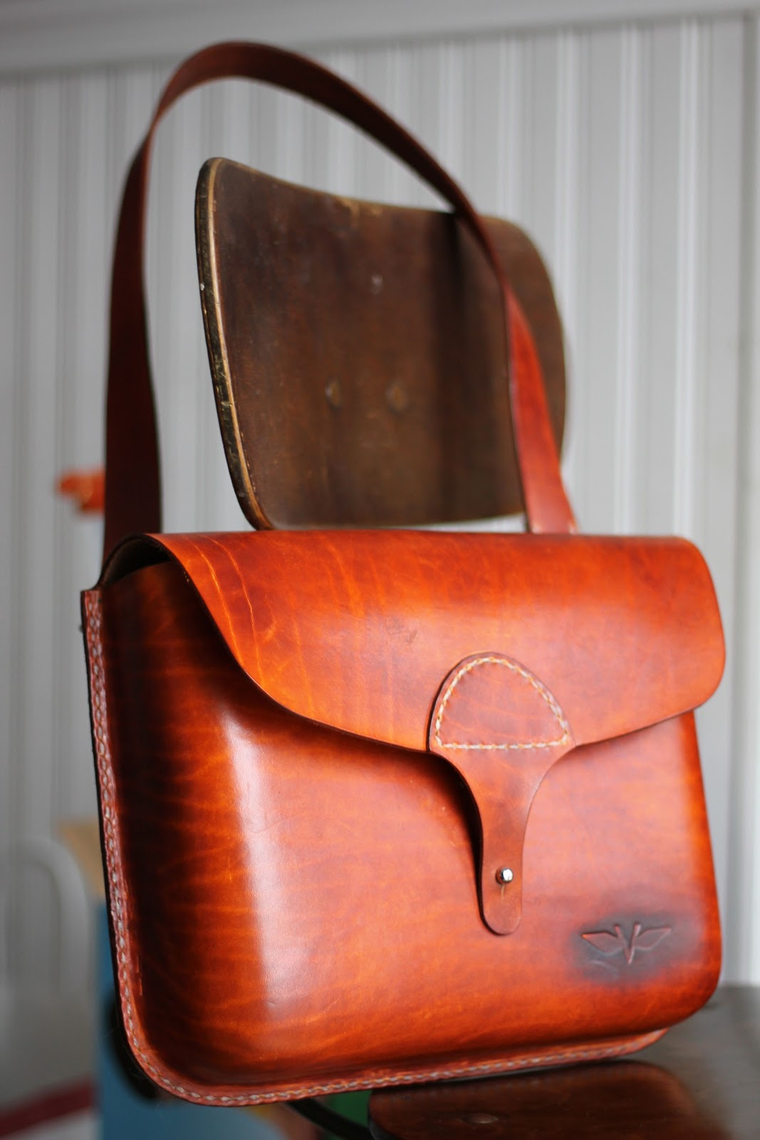 VanHook & Co.: Hand Stitched Leather Bag