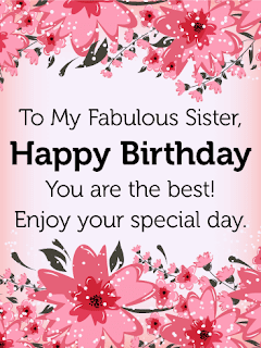 happy birthday to my sister message,funny birthday wishes for younger sister