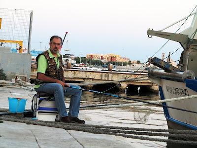 21 agosto 2016 - Una mattinata sul porto di Molfetta