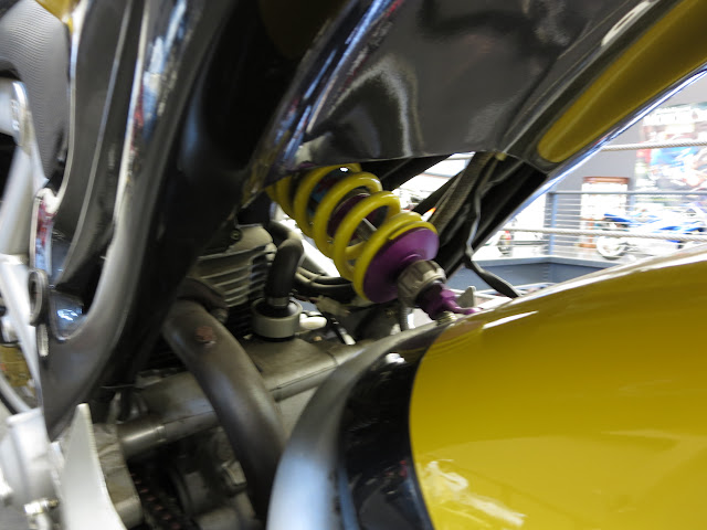 Bimota Mantra Rear Suspension