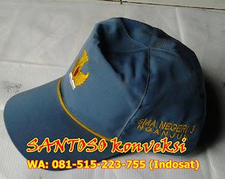Topi Bordir seragam sekolah SD SMP SMA