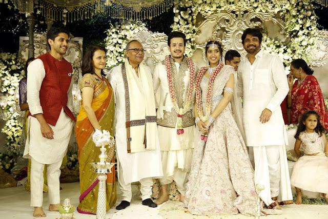 Akkineni Akhil - Shriya Bhupal Engagement Pics