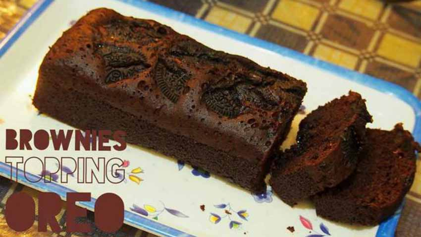 Resep Cake Kukus Simple: Resep Membuat Brownies Kukus Oreo Simple No Mixer Dan Anti