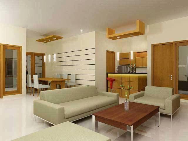 ruang keluarga dan ruang makan 3