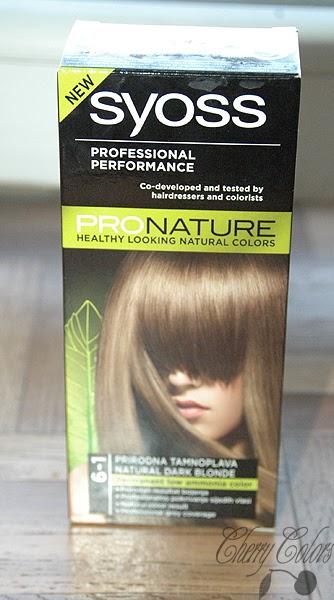 Hair Color Syoss Pro Nature 6 1 Dark Blonde Cherry
