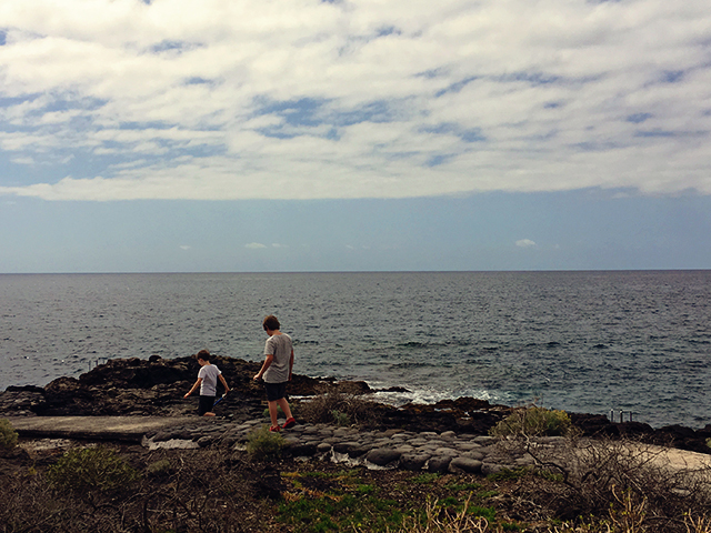wandelpad oceaan Tenerife