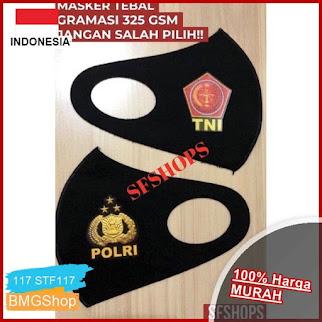 STF117 Masker Scuba Impor Tebal Logo BMGShop