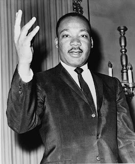 Στη φωτογραφία εικονίζεται ο Μάρτιν Λούθερ Κινγκ ο νεώτερος.