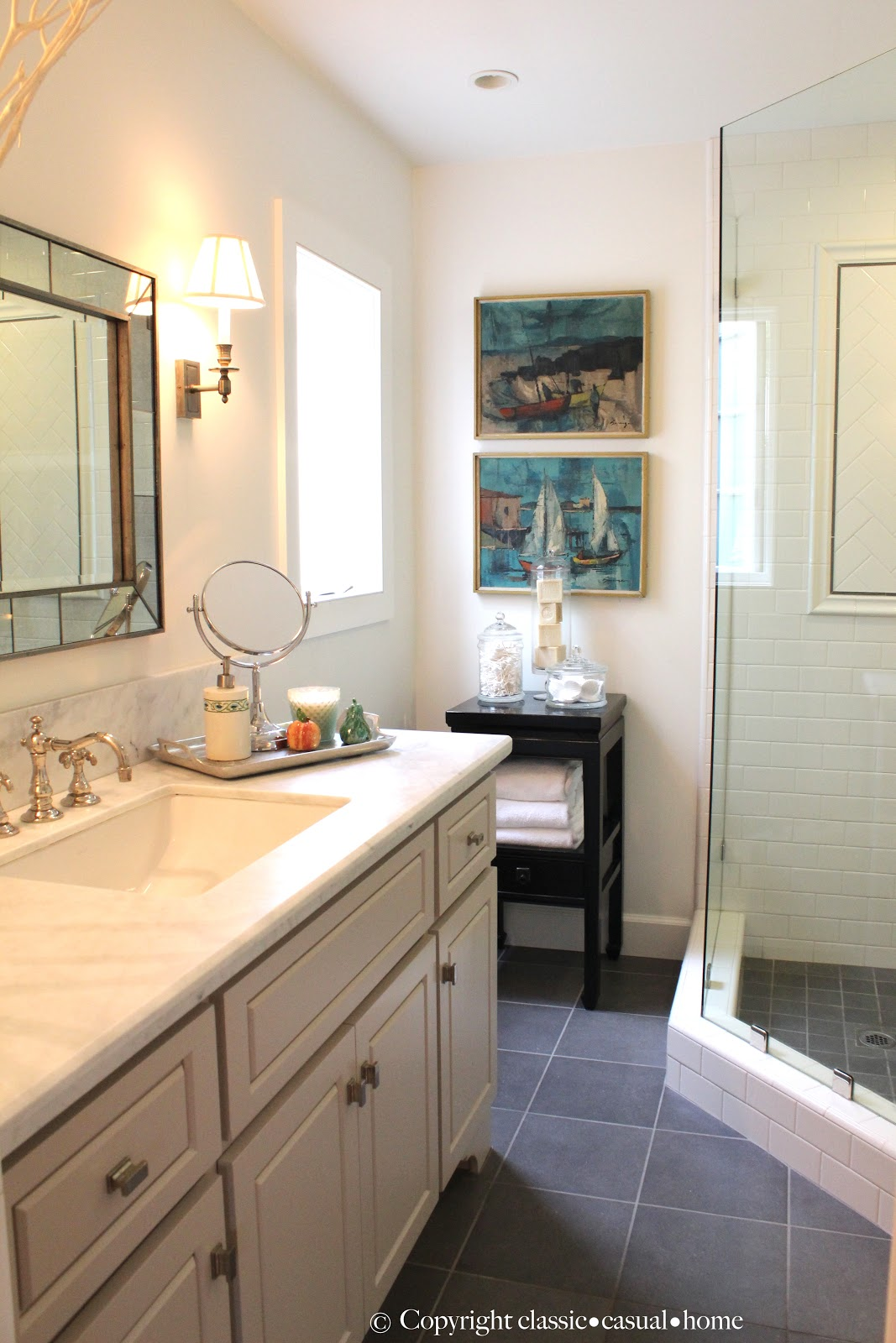 Beach Bath Remodel Sources - Classic Casual Home