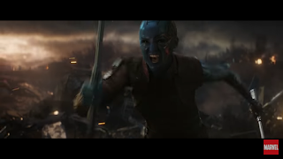 Nebula, Titan, Thanos, Avengers End Game