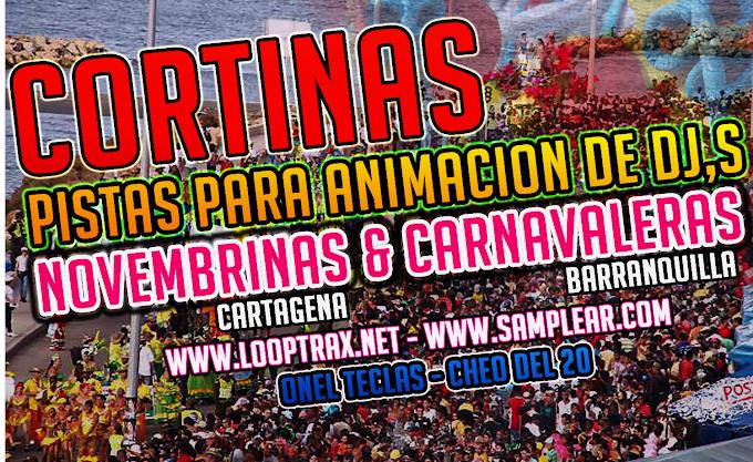 Cortinas Carnavaleras - Pistas Novembrinas 2016 -2017