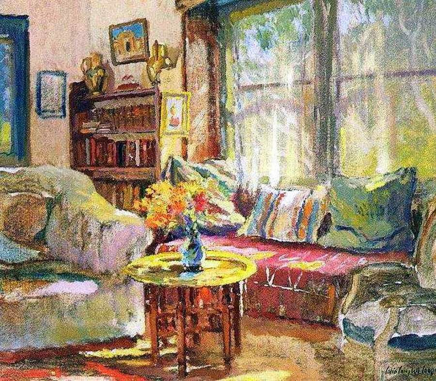 Colin Campbell Cooper Impressionist Painter Tutt Art