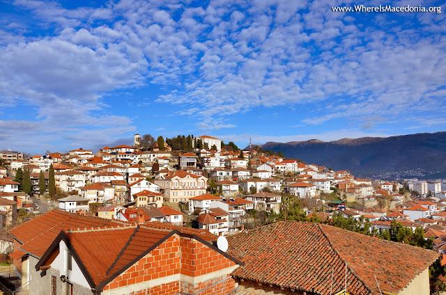 Panorama - Ohrid city - Macedonia
