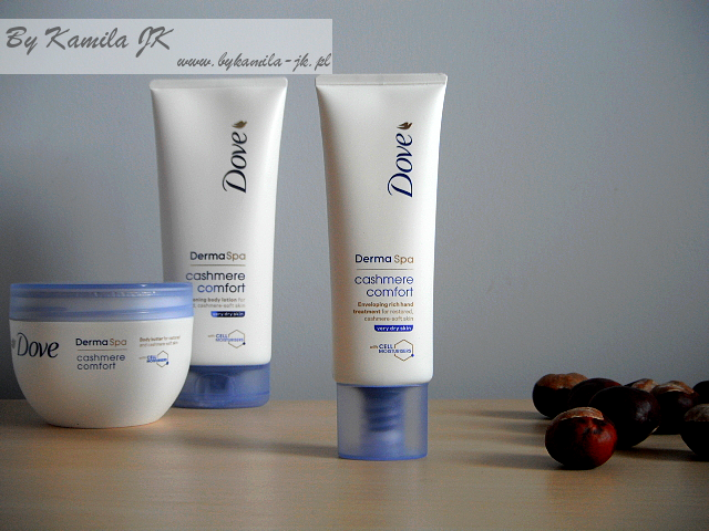 Dove Derma Spa Cashmere Comfort krem do rąk